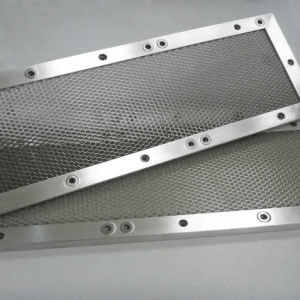 Shielding honeycomb vent panel