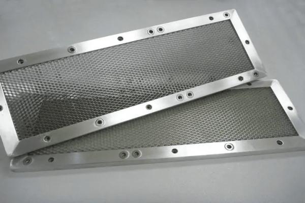 Shielding honeycomb vent panel