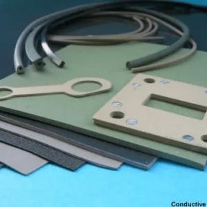 Conductive silicone gasket