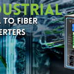 Types of Industrial serial to fiber converters